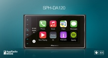 Pioneer SPH-DA120 iPhone/iPod проигрыватель 2DIN